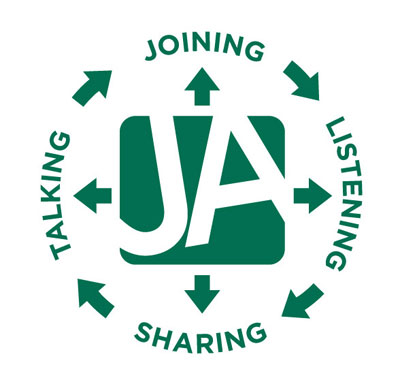 JA Conversation Talking Joining Listening Sharing
