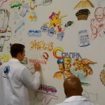 SIC attendees draw their first digital memories. Photo by Jacob Caggiano.
