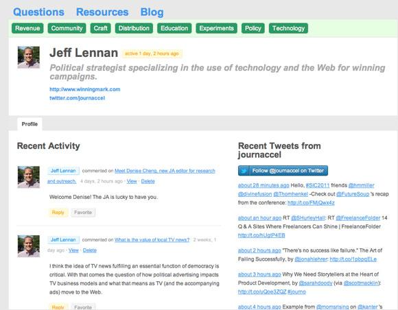 Jeff Lennan JA profile