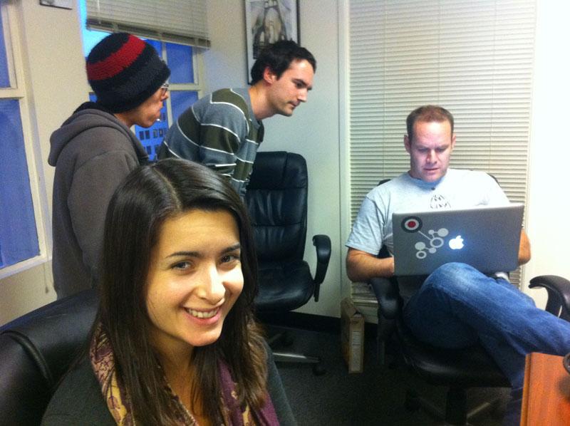 JA development team works on Election 2012 Forum