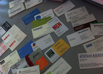 Journalism Business Cards