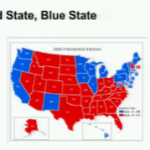 Red State, Blue State Map